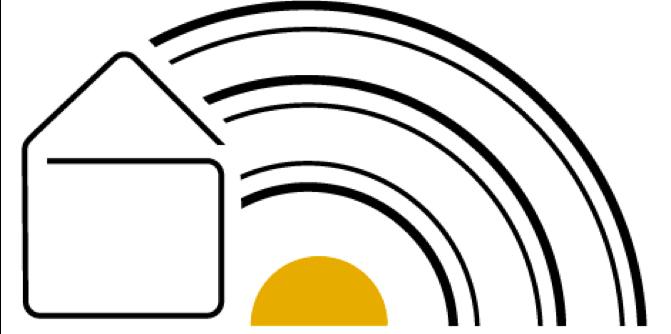 Logo Dienst voor Gezinszorg De Regenboog vzw